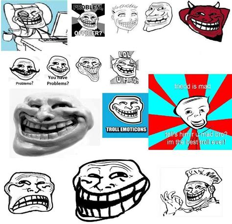 Know Your Meme Troll Face - trolltime 2 trollface coolface problem know your meme