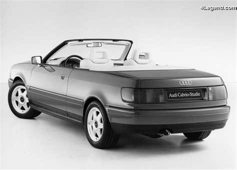 how make cars 1989 audi 80 seat position control audi cabriolet studie de 1989 le concept car annon 231 ant l audi 80 cabriolet 4legend com