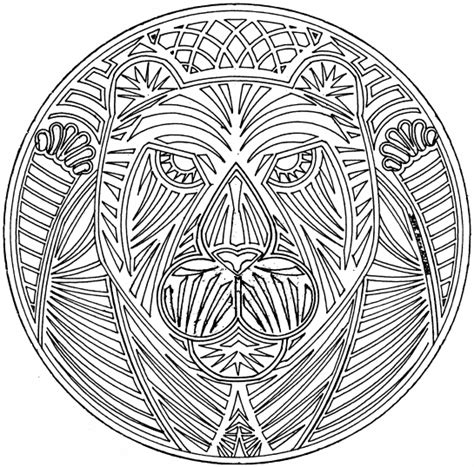 intricate tiger coloring pages free intricate mandalas coloring pages