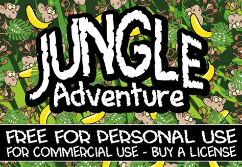 dafont adventure cf jungle adventure font dafont com