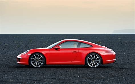 2012 Porsche 911 Side View Photo 1