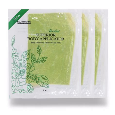 Detox Stomach Pads by 3 Pcs Pack Neutriherbs Weight Loss Herbs Patch Slimming