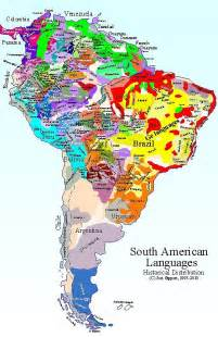 south america language map 1000 images about map of south america on