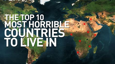 What Countries Can I Move To With A Criminal Record Top 10 Worst Countries In The World To Live