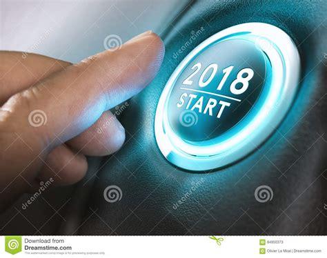 new year 2018 start 2018 start two thousand eighteen stock illustration