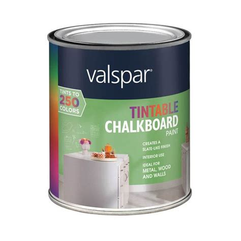 chalkboard paint tintable valspar tintable chalkboard paint