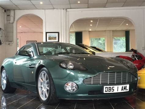 green aston martin used aston racing green aston martin vanquish for sale