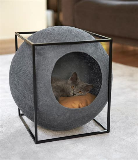 cool cat furniture 20 cool cat beds for your furry friend cat gray and pet