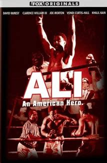 Ali An American Review Ali An American 2000 Starring David Ramsey Clarence Williams Iii Joe Morton Vondie