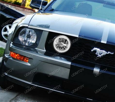 mustang gt lights ford mustang gt led halo ring daytime running lights led