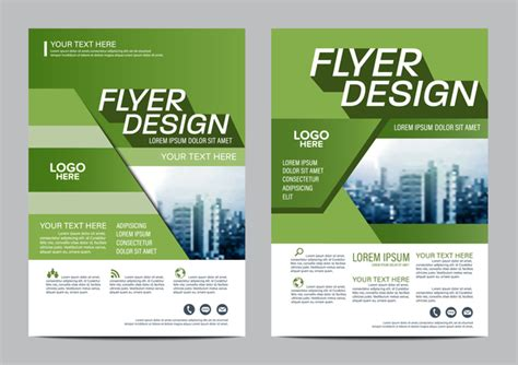 hairstyles book free download green styles book and brochure cover vector 07 vector
