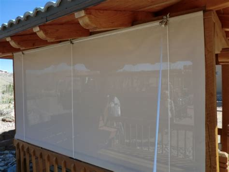 pulley curtains rader awning vertical roll curtains