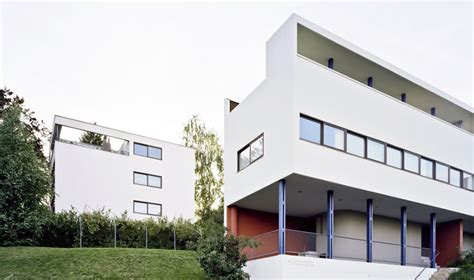 Historical House Plans by Le Corbusier And The Weissenhof Houses