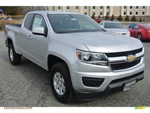 2015 chevrolet colorado wt extended cab in silver