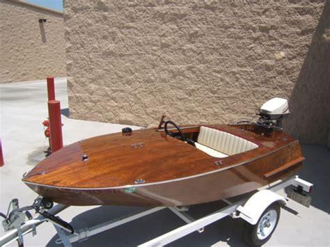 glen  ladyben classic wooden boats  sale