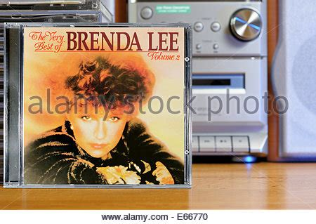 Cd V A Vocalist american pop singer brenda being filmed for s top of the pops stock photo royalty free