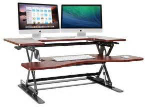 Sit Stand Desk Top Workstation The 10 Best Adjustable Standing Desks In 2017