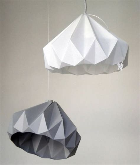 Origami Light - ornament origami light bulb ls