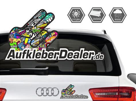 Autoaufkleber Cool by Promotion Aufkleber Shockerhand Kostenlose