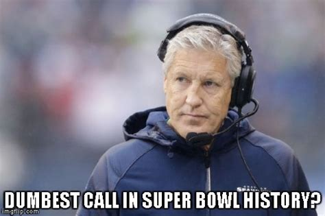Pete Carroll Memes - pete carroll bad call meme sports unbiased