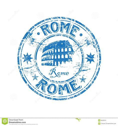 Tampon En Caoutchouc De Rome Images Stock Image 9023974