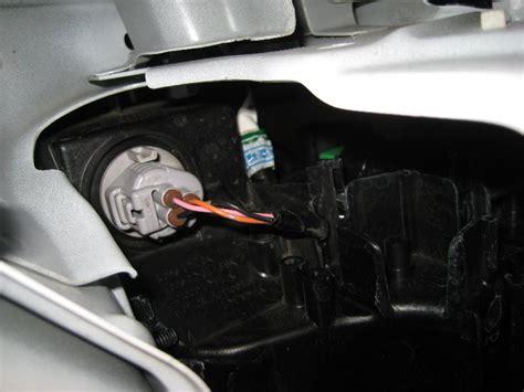 mazda 3 headlight bulb change mazda mazda3 headlight bulbs replacement guide 036