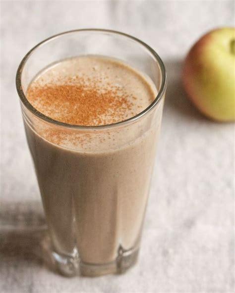 Apple Cinnamon Detox Smoothie by Apple Cinnamon Almond Breakfast Smoothie Breakfast