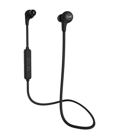 boat rockerz buy boat rockerz in the ear bluetooth earphones black