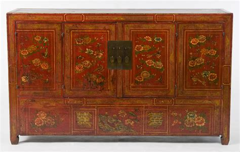 cny asian antique sideboard cabinet antique asian