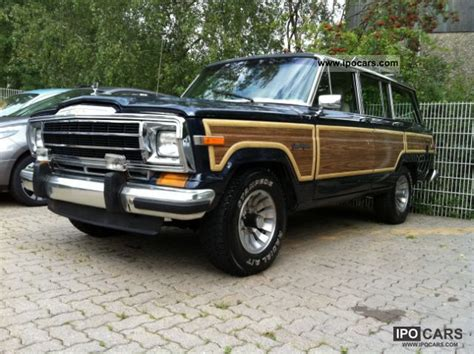 1990 jeep 5 9 l grand wagoneer bj 90 4x4 car photo and