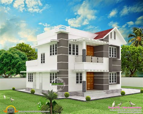 cube house designs house design by cube constructions kerala home design