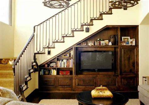 Desain Lemari Tv Bawah Tangga | desain lemari bawah tangga minimalis dinerbacklot