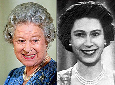 queen elizabeths hairstyle dame helen s gentle jibe at the queen s hair daily mail