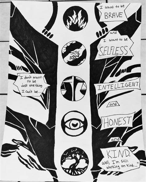 divergent four s full tattoo design sketched google