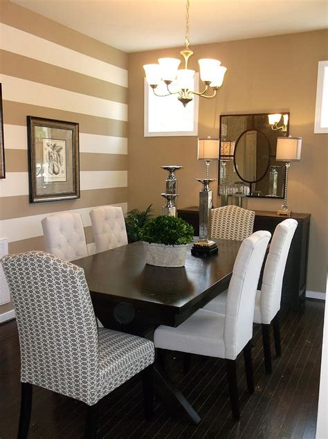 ideas for dining room walls 10 dining rooms with snazzy striped accent walls
