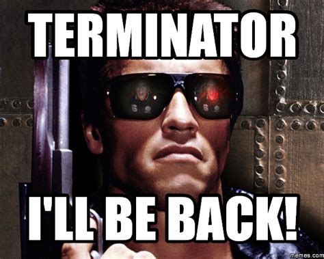 image gallery i ll be back terminator