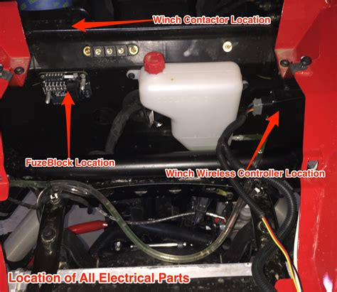 Blockers Location Viper Elite Winch Install Electrical 2016 Rzr S 900 Polaris Rzr Forum Rzr Forums Net