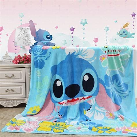 lilo and stitch bedding cute disney lilo stitch plush soft silky flannel blanket