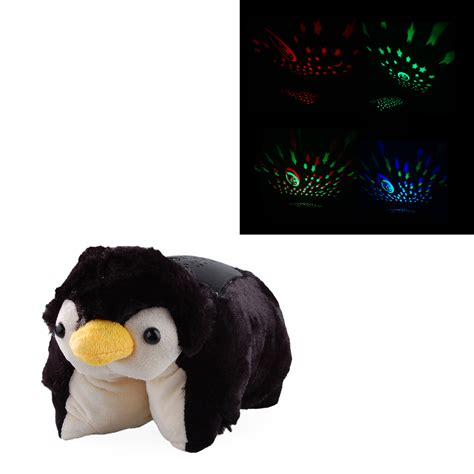 Penguin Light Up Pillow Pet by Playful Penguin Shaped Baby Sleeping Light L