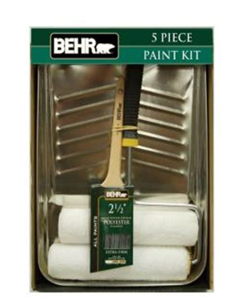 home depot paint tools accessories home depot behr paint kit or brushes 75 southern