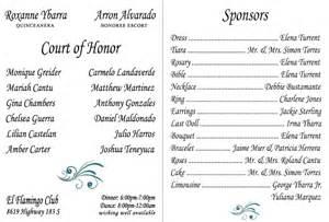 Examples Of Wedding Program Wording Austintexasdj