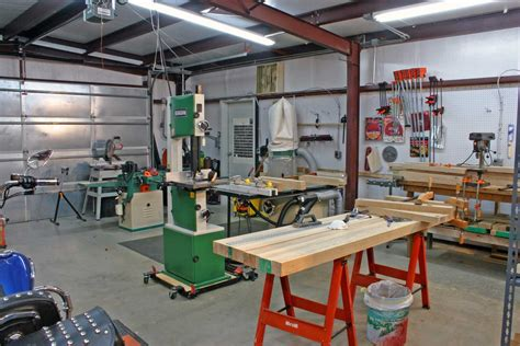 home garage auto shop pamminv workshop plans wood house