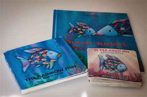 libro los peces de la el pez arco iris tigriteando