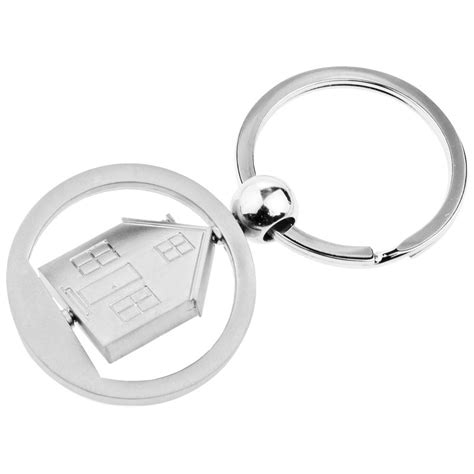 house shaped key ring personalised gifts corporatel