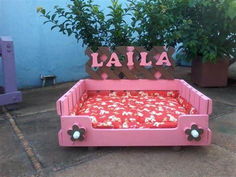 girl dog beds diy wooden pallet dog beds