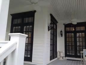 white house with black trim white house black trim and windows exteriors pinterest