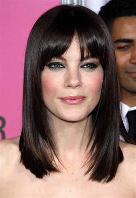 bangs shoulder length hair older women haircut long medium length hair cuts for women with