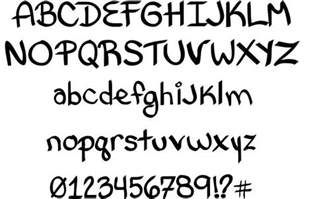 bethany style letters font by bethany cloutier fontriver