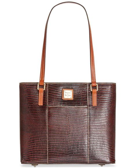 Fashion Embossed Shopper Bag Set 3 In 1 3352 dooney bourke lizard embossed small shopper a macy s exclusive style in brown lyst