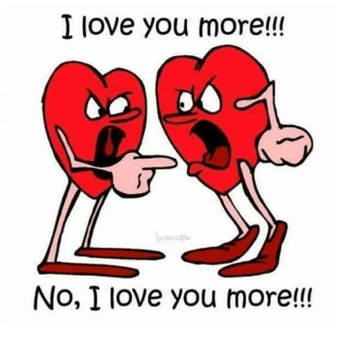 I Love You More Meme - i love you more no i love you more love meme on sizzle